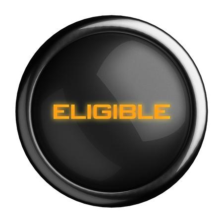 eligible: Palabra en el bot?n negro