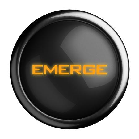 Word on black button Stock Photo - 15679605