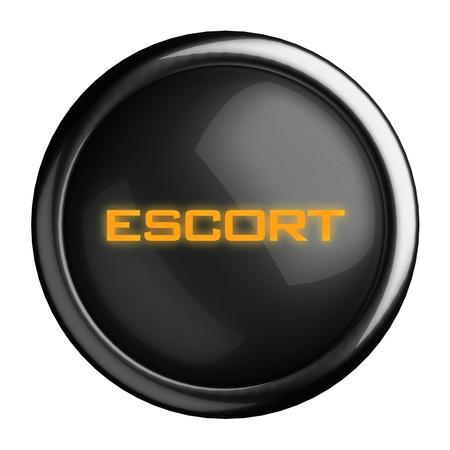 Word on black button Stock Photo - 15685167