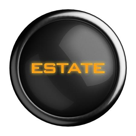 Word on black button Stock Photo - 15696372