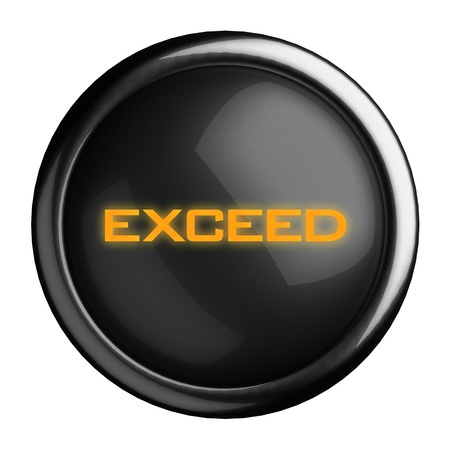 Word on black button Stock Photo - 15682232