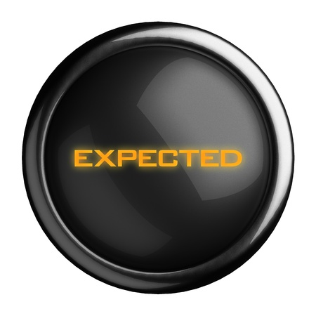 Word on black button Stock Photo - 15711822