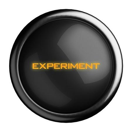 Word on black button Stock Photo - 15723383