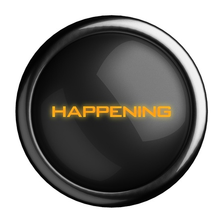 Word on black button Stock Photo - 15711766