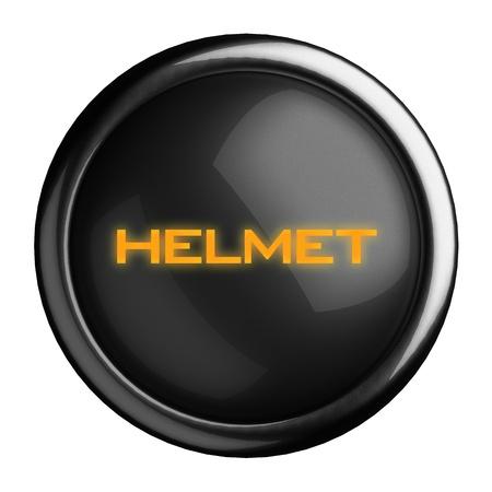 Word on black button Stock Photo - 15697892