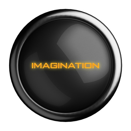 Word on black button Stock Photo - 15723477