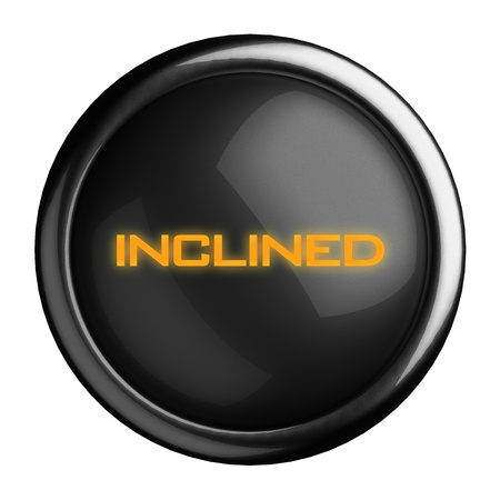 Word on black button Stock Photo - 15698590