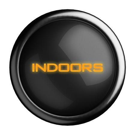 Word on black button Stock Photo - 15696355