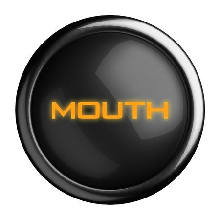 Word on black button Stock Photo - 15682982