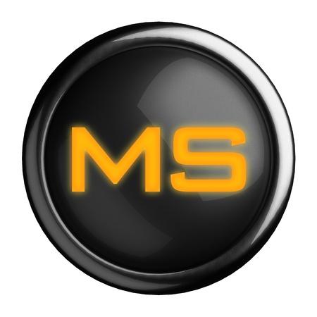 Word on black button Stock Photo - 15664468