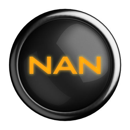 nan: Word on black button