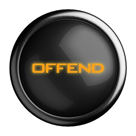 Word on black button Stock Photo - 15682235
