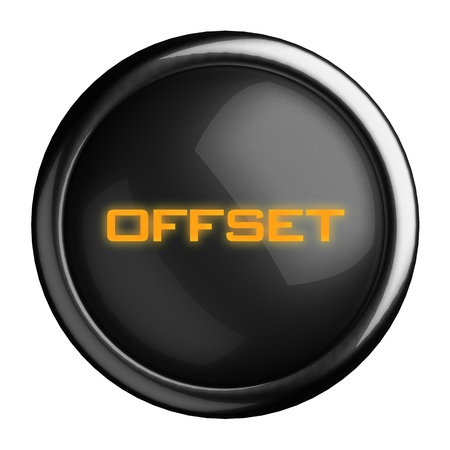 Word on black button Stock Photo - 15682448