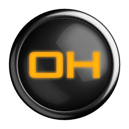 Word on black button Stock Photo - 15664480