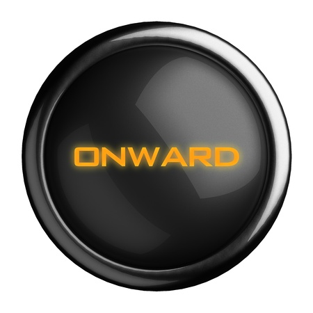 onward: Word on black button