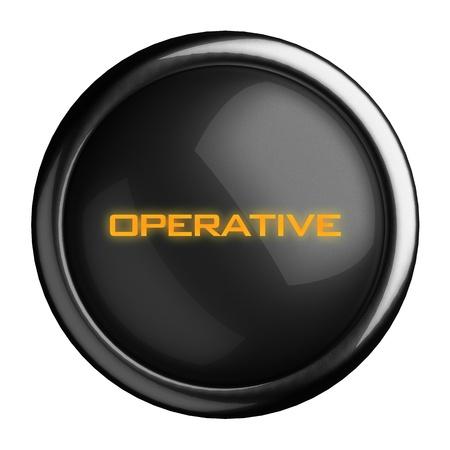 Word on black button Stock Photo - 15713567