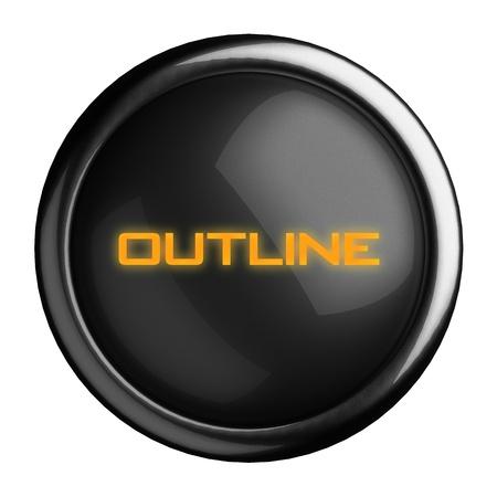 Word on black button Stock Photo - 15696373