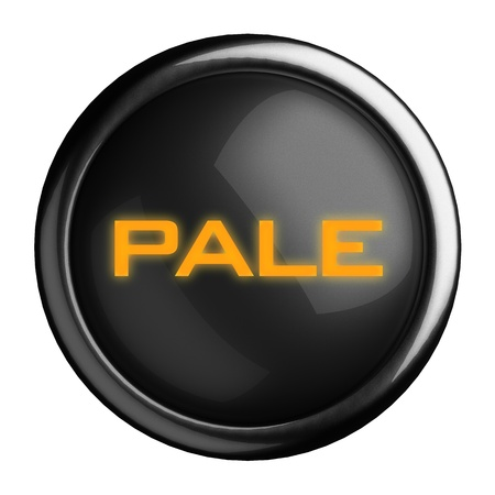 pale yellow: Word on black button