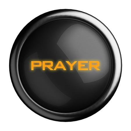 Word on black button Stock Photo - 15698569