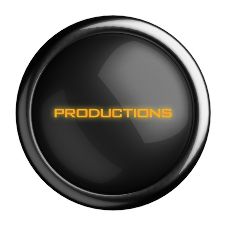 Word on black button Stock Photo - 15723424