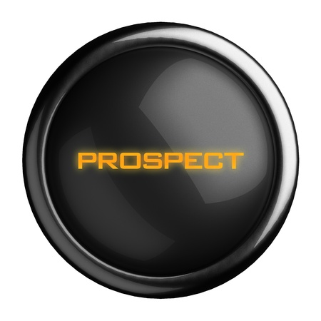 prospect: Word on black button