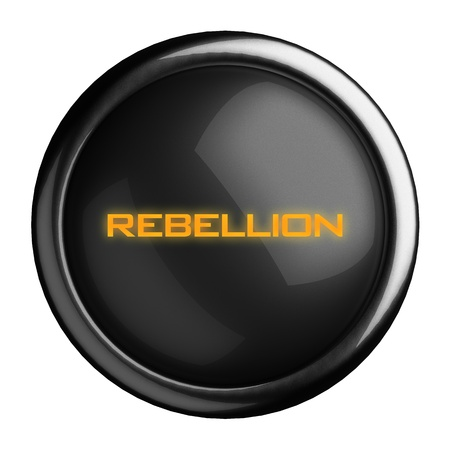 Word on black button Stock Photo - 15711818