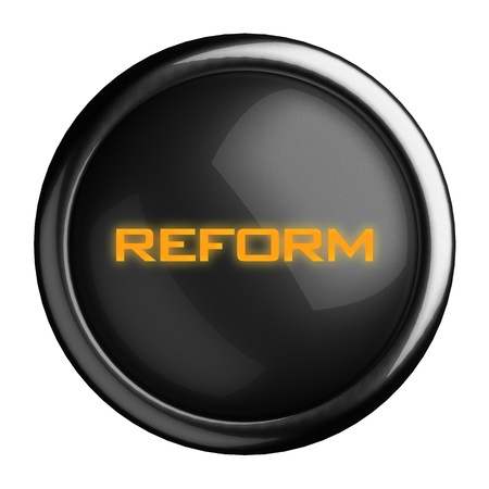 Word on black button Stock Photo - 15682421