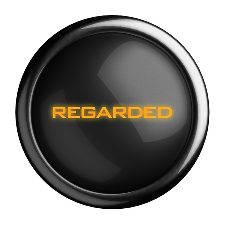 Word on black button Stock Photo - 15710347