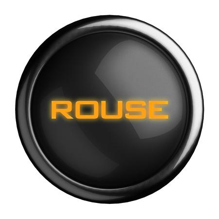 Word on black button Stock Photo - 15675628