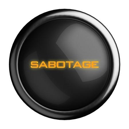 Word on black button Stock Photo - 15712444