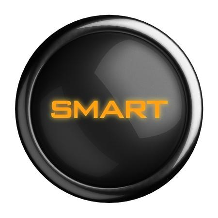 smart goals: Word on black button
