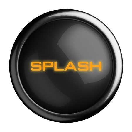 Word on black button Stock Photo - 15686830