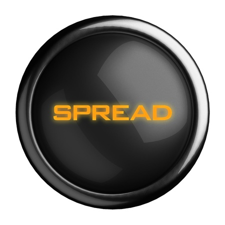 Word on black button Stock Photo - 15697889