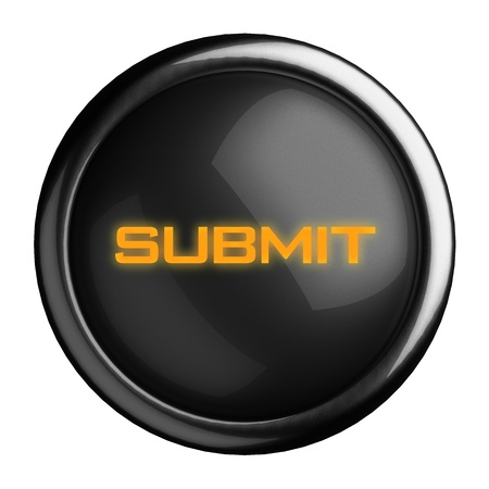 Word on black button Stock Photo - 15728291