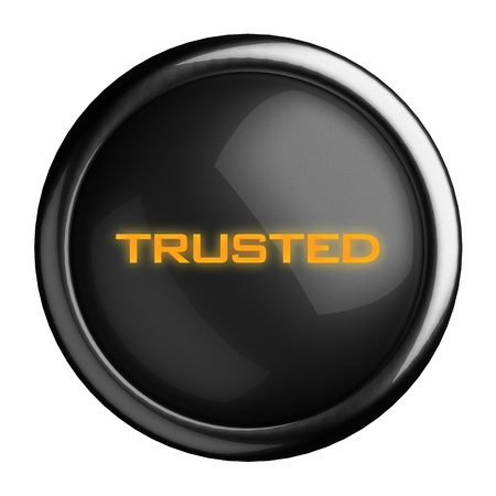 Word on black button Stock Photo - 15728638
