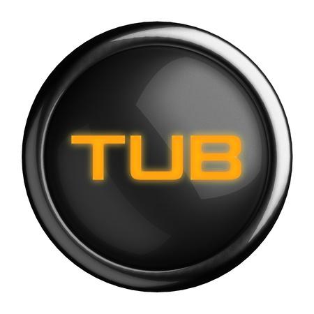 Word on black button Stock Photo - 15727427