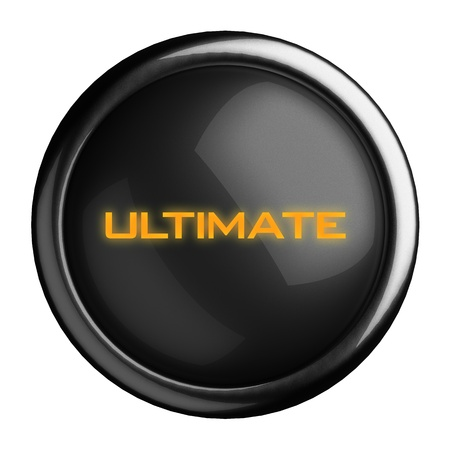 ultimate: Word on black button