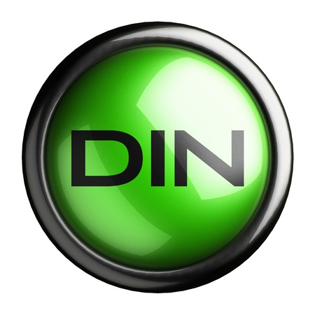din: Word on the button