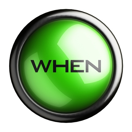 Word on the button Stock Photo - 16647986