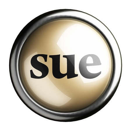 to sue: Word on the button