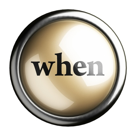 Word on the button Stock Photo - 17749034