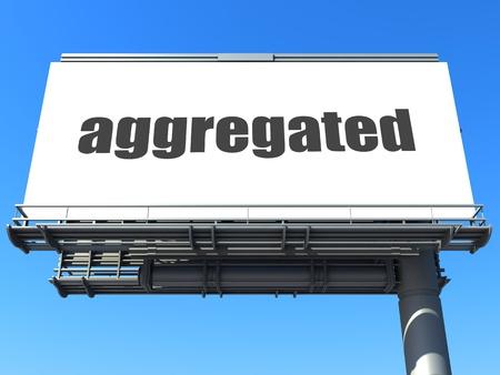 aggregated: word on billboard