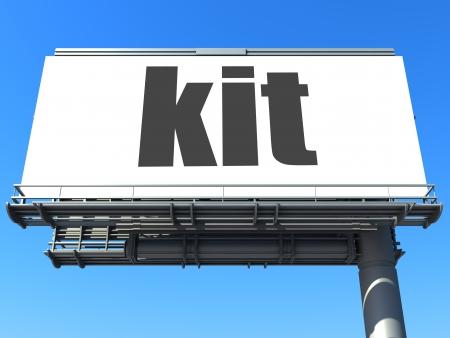 word on billboard photo