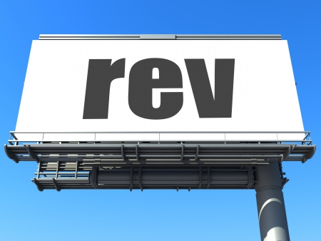 rev: word on billboard