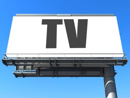 word on billboard Stock Photo - 19207646