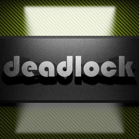 deadlock: metal word on carbon