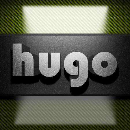 hugo: metal word on carbon