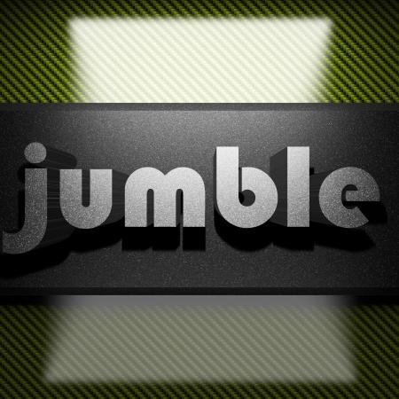 jumble: metal word on carbon