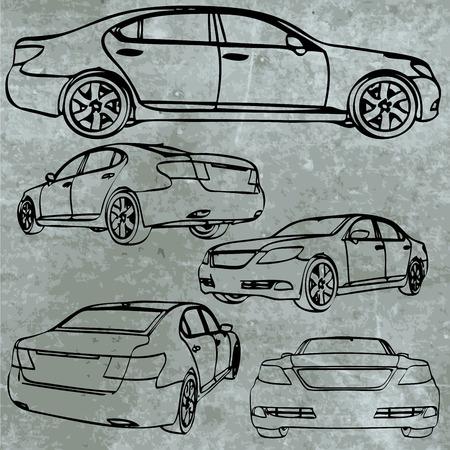 sportcar: vector sportcar