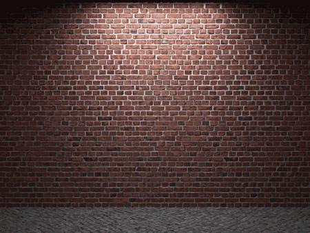 stonework: vector brick background